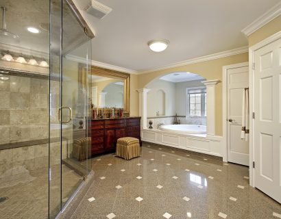 Master bath remodel by Prestige Homes & Remodel