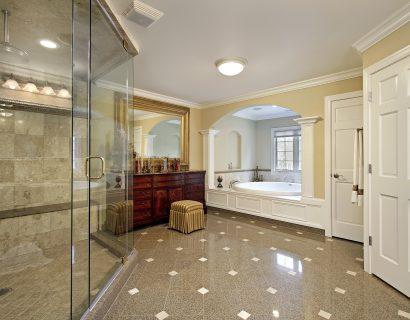 Master bath remodel by Prestige Homes & Remodel