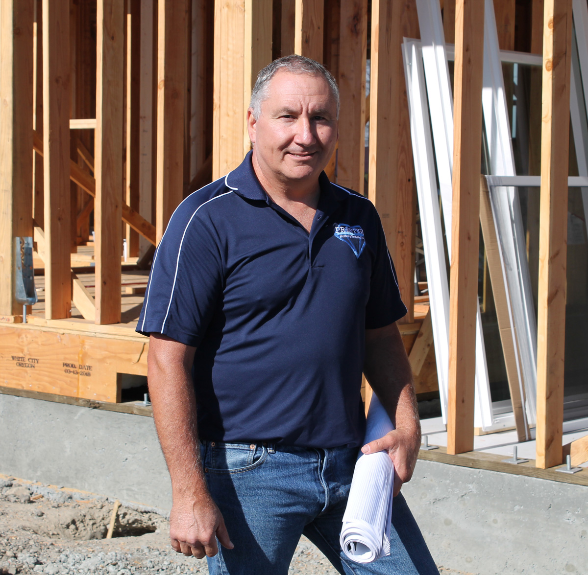 Ozzie Ozsvath, owner at Prestige Homes & Remodel in Satna Rosa, CA.
