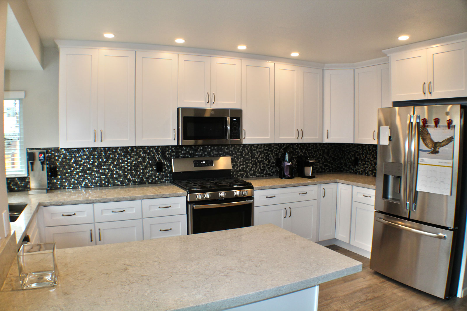 Custom crafted kitchen by Prestige Homes & Remodel