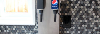 Pepsi Dispenser Installed
